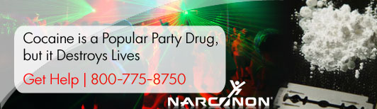 Cocaine popular Party Drug