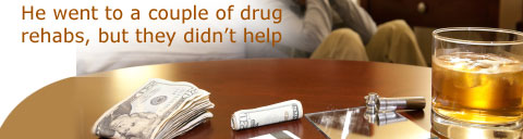 Drug Rehabs Fail to Help