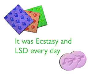Ecstasy and LSD Use