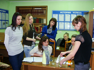University of Ulyanovsk Students Learn Narconon Drug Free Withdrawal
