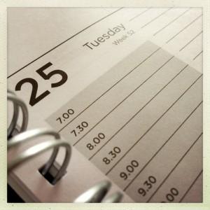 Narconon schedule