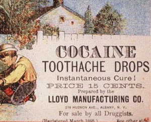 cocaine advertisement early 1900s