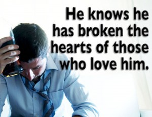 he knows he has broken hearts