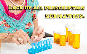 secure prescription medications