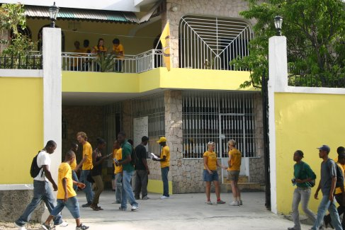 Scientology Volunteer Ministers house in Haiti.