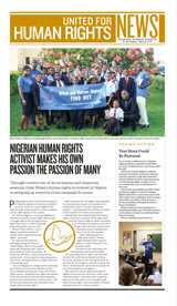 United for Human Rights – Newsletter