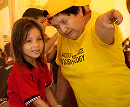 A BRIGHT YELLOW TENT ON THE COLOMBIAN BORDER BRINGS HOPE TO VENEZUELANS