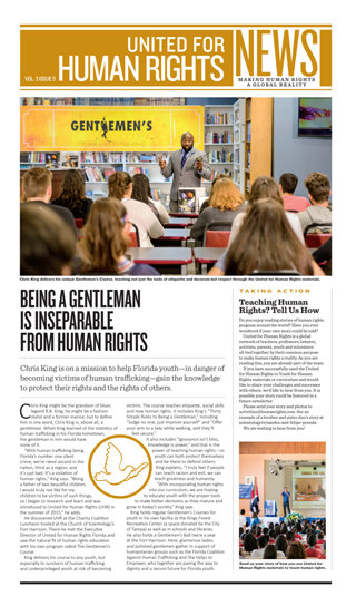 Human Rights Newsletter Vol. 3, Issue 5