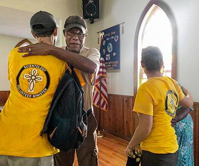 志願牧師無條件的幫助受到認可