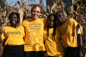 David Dempster en Kenya