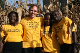 在肯亞的大衛 登普斯特