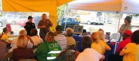 聖地牙哥山達基教會贊助研討會,回應總統歐巴馬的號召,在災難襲擊前投入社區工作。