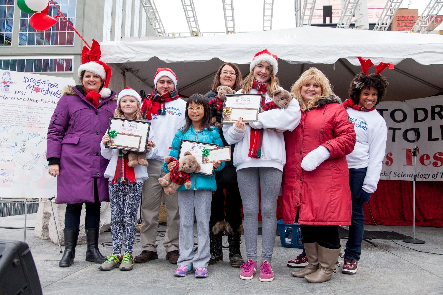 Advanced English Essays Winners Of The Annual Drugfree Marshals Essay Contest On Stage In  Downtown Toronto At The Th Annual Drugfree Marshals Christmas Festival Essay Of Health also English Essay Writing Examples Drugfree Marshals Toronto Th Annual Say No To Drugs Say Yes To  Higher English Reflective Essay