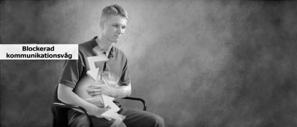 Kommunikation med kroppen minskar när man är sjuk eller skadad. En beröringsassist hjälper till att återupprätta en persons förmåga att till fullo kommunicera med en sjuk eller skadad kroppsdel.