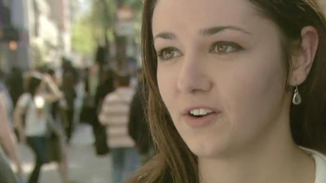 Aubrey, estudiante
