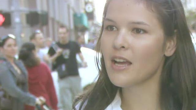 Sarah, onderzoekster