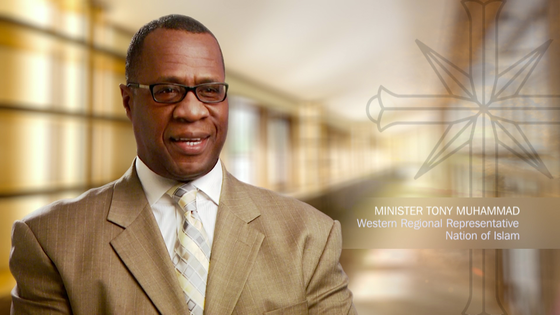 Minister Tony Muhammad Western Regional Representative Nation Of Islam