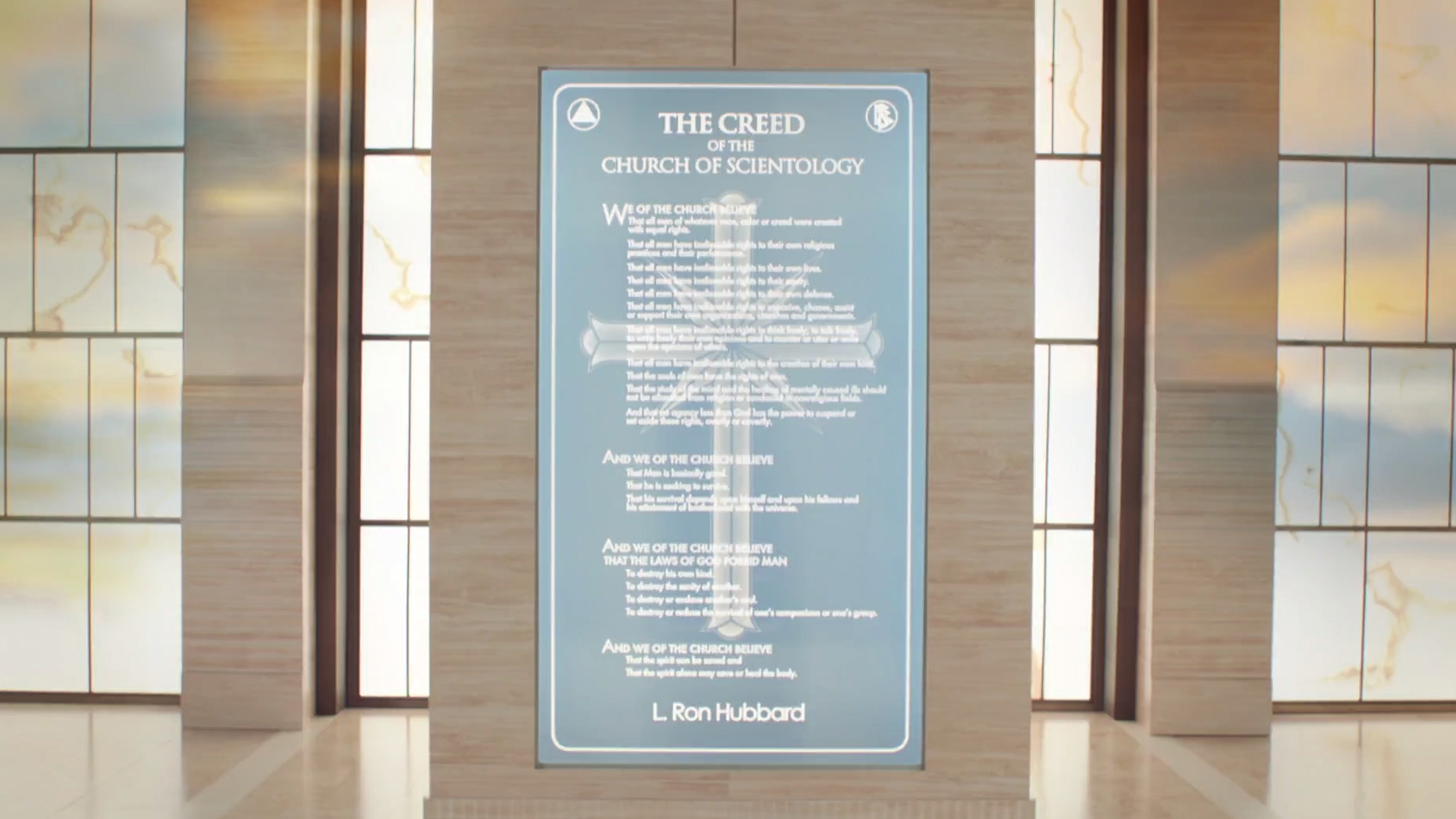 the creed of the church of scientology
