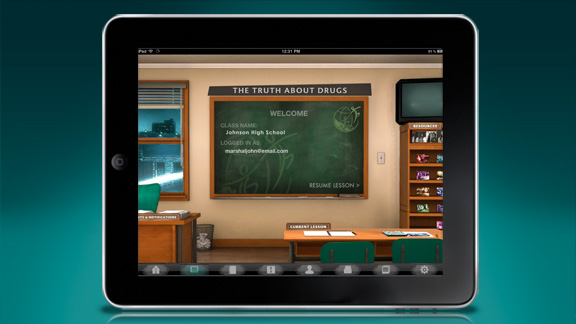 <ul>         <li>Gli insegnanti possono usare l'applicazione per consegnare il programma di studio agli studenti direttamente in classe</li>         <li>Gli istruttori e gli insegnanti possono gestire numerosi studenti contemporaneamente, e possono adattare il programma di studio in base alle necessità di specifici studenti, che siano lontani o abbiano particolari necessità</li>     <ul>