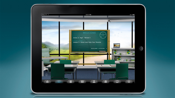 <ul>         <li>Gli insegnanti possono usare l'applicazione per consegnare il programma di studio agli studenti direttamente in classe</li>         <li>Istruttori e insegnanti possono gestire numerosi studenti contemporaneamente, e possono adattare il programma di studio in base alle necessità di specifici studenti, o individualmente.</li>     <ul>