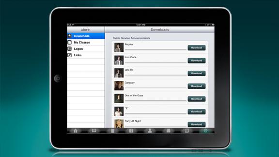 Desuden kan alt materiale downloades til gennemsyn, så det er tilgængeligt, hvad enten du er on- eller offline.