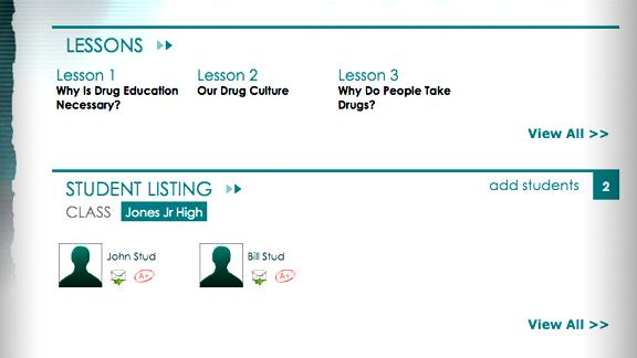 <ul>         <li>Los profesores pueden utilizar la página web para entregar el plan de estudios a los estudiantes directamente en las aulas.</li>         <li>Los tutores y maestros de escuela en casa, pueden administrar a varios estudiantes a la vez, y se puede personalizar el plan de estudios para las necesidades de estudiantes específicos en un escenario remoto o personalizado.</li>     <ul>