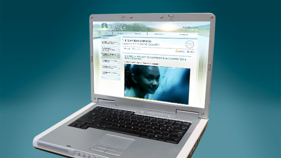 'האתר לחינוך און-ליין' (Online Education Website) נבנה כדי לאפשר כמה סביבות למידה, עם כלי עבודה עבור המורה והתלמיד כאחד.