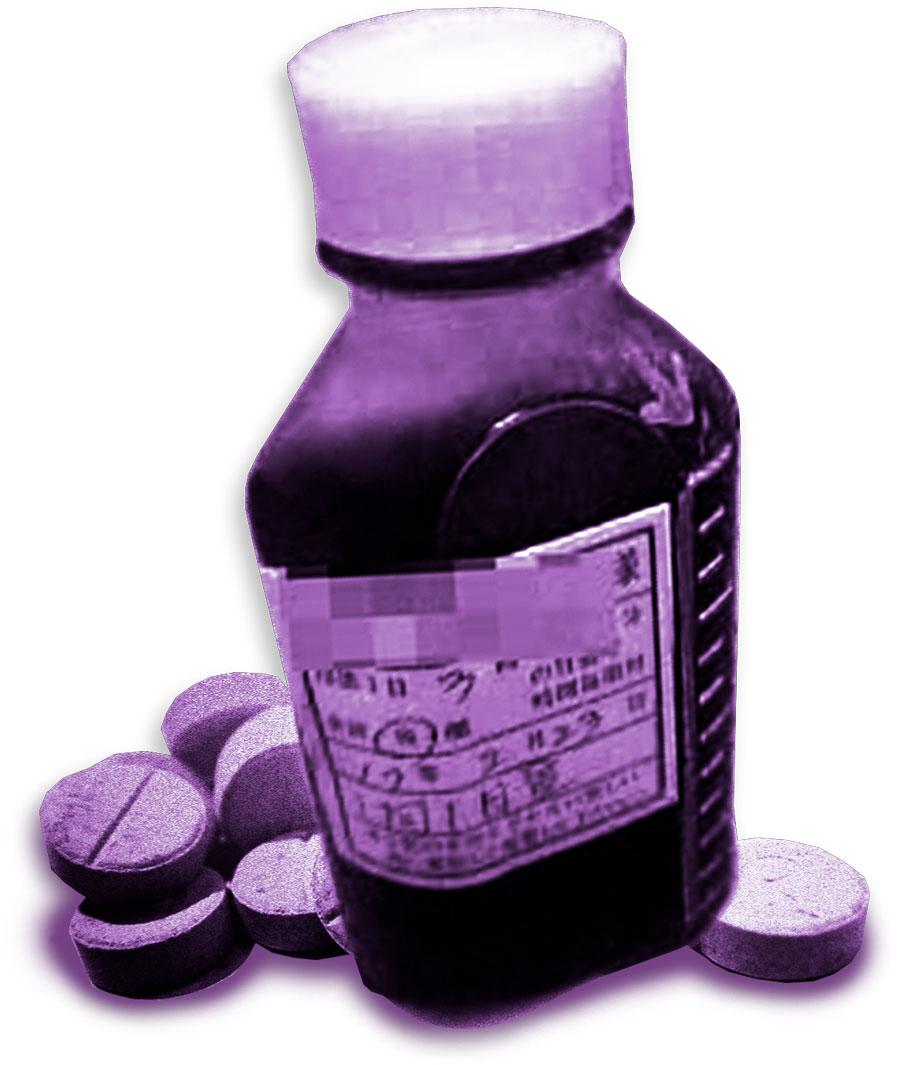 コデインの錠剤が入ったビン。あらゆる麻酔薬は一時的に痛みを和らげますが、... コデインの錠剤が