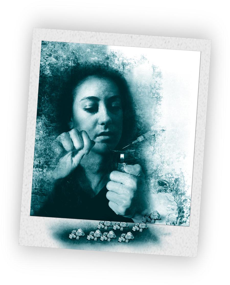Smoking v snorting oxycotin.
