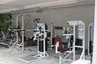 substance abuse rehab center workout area