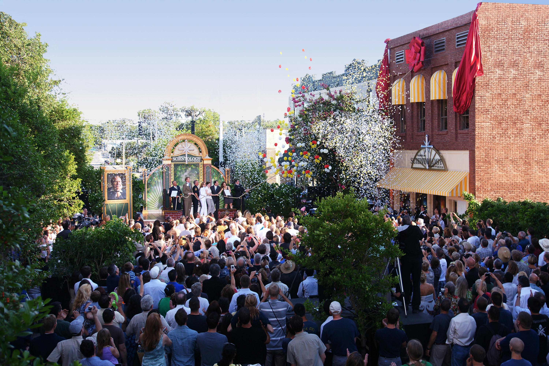 john travolta opens church of scientology mission in historic
