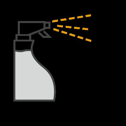 Бутылка c распылителем