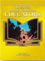 Advanced Study Tools For Educators (Manual)