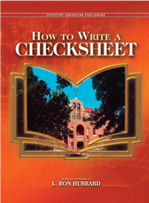 How to Write a Checksheet (Manual)
