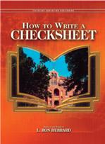 How to Write a Checksheet (Manual)
