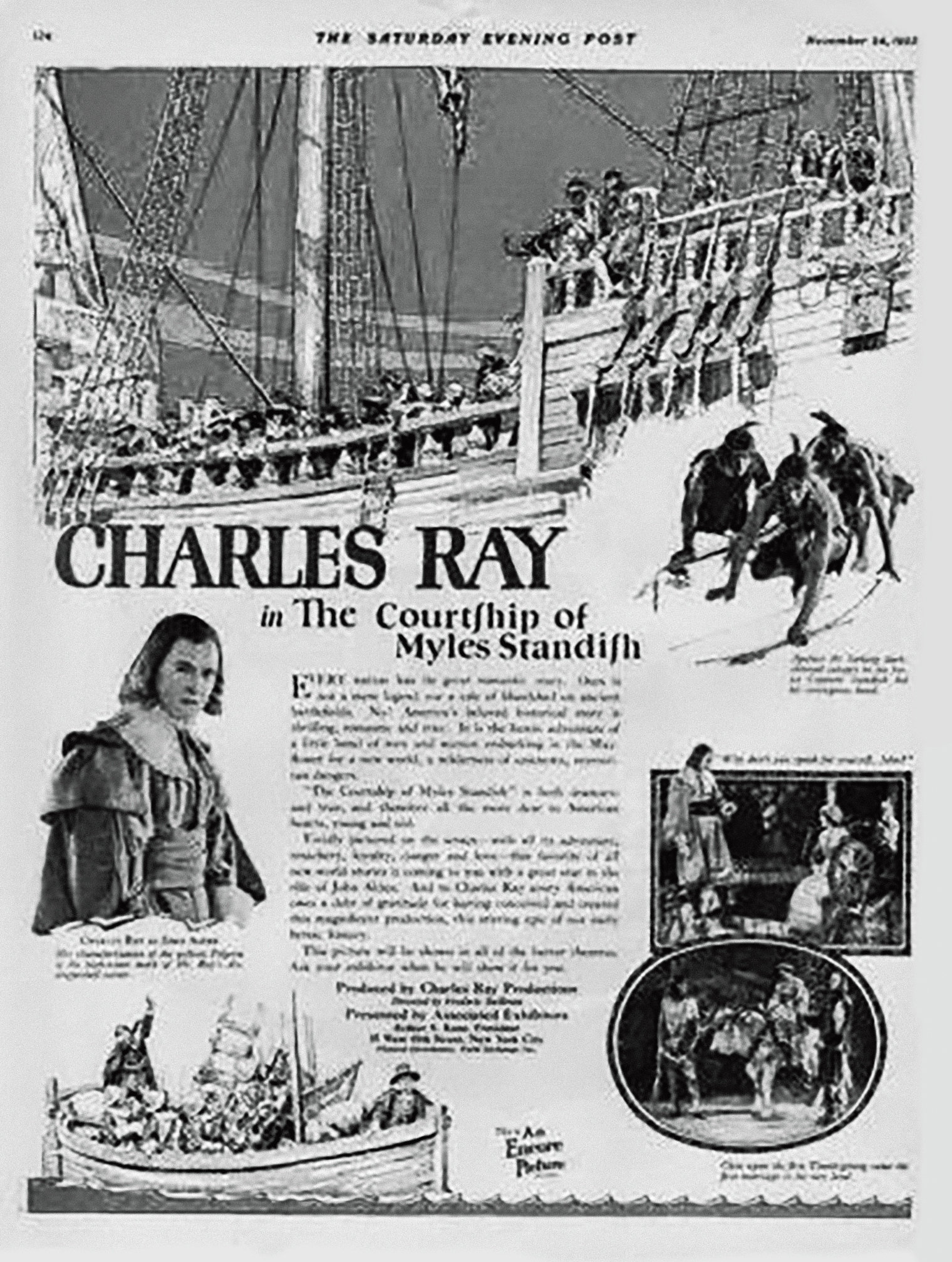 CHARLES RAY PRODUCTIONS, 1923