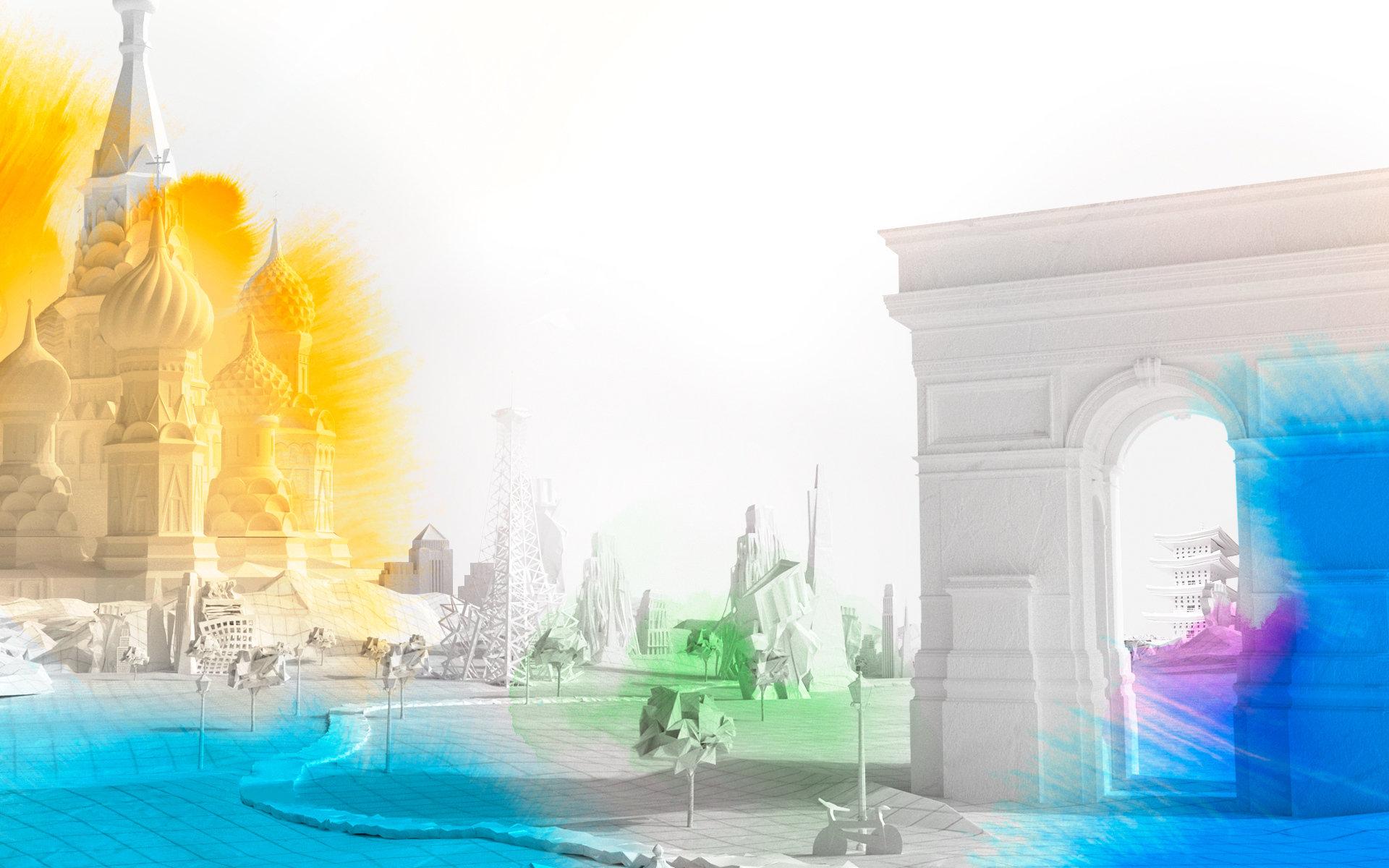 אפקטים חזותיים נוצרו עבור התוכן המקורי