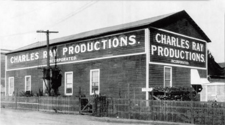 查爾斯.瑞伊製片廠,1923年