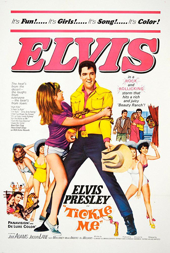 Elvis Presley. Hazme cosquillas