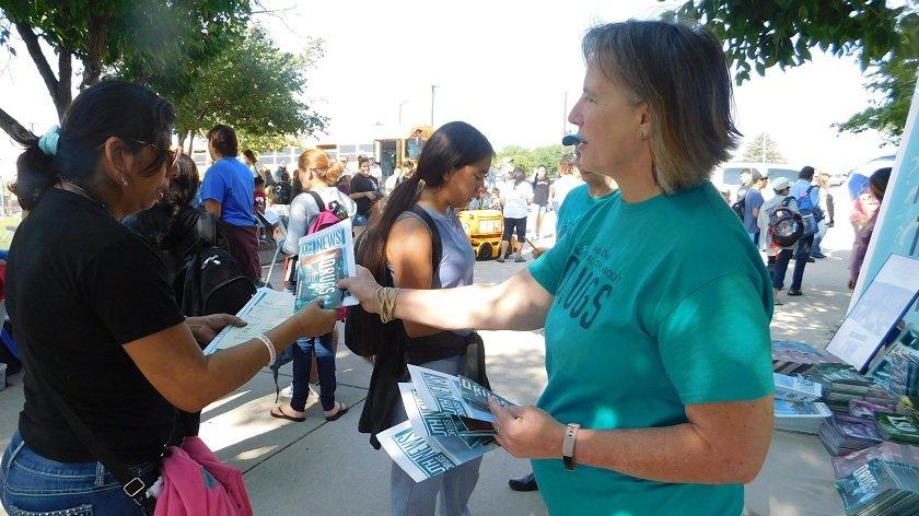Colorado Drug-Free World booklets distribition