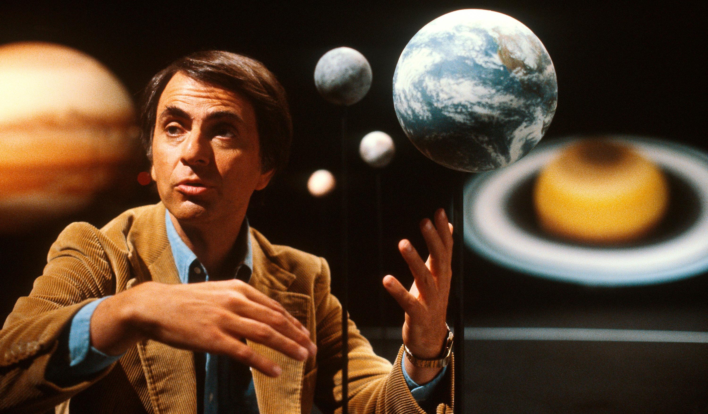 Carl Sagan – Cosmos, 1980.