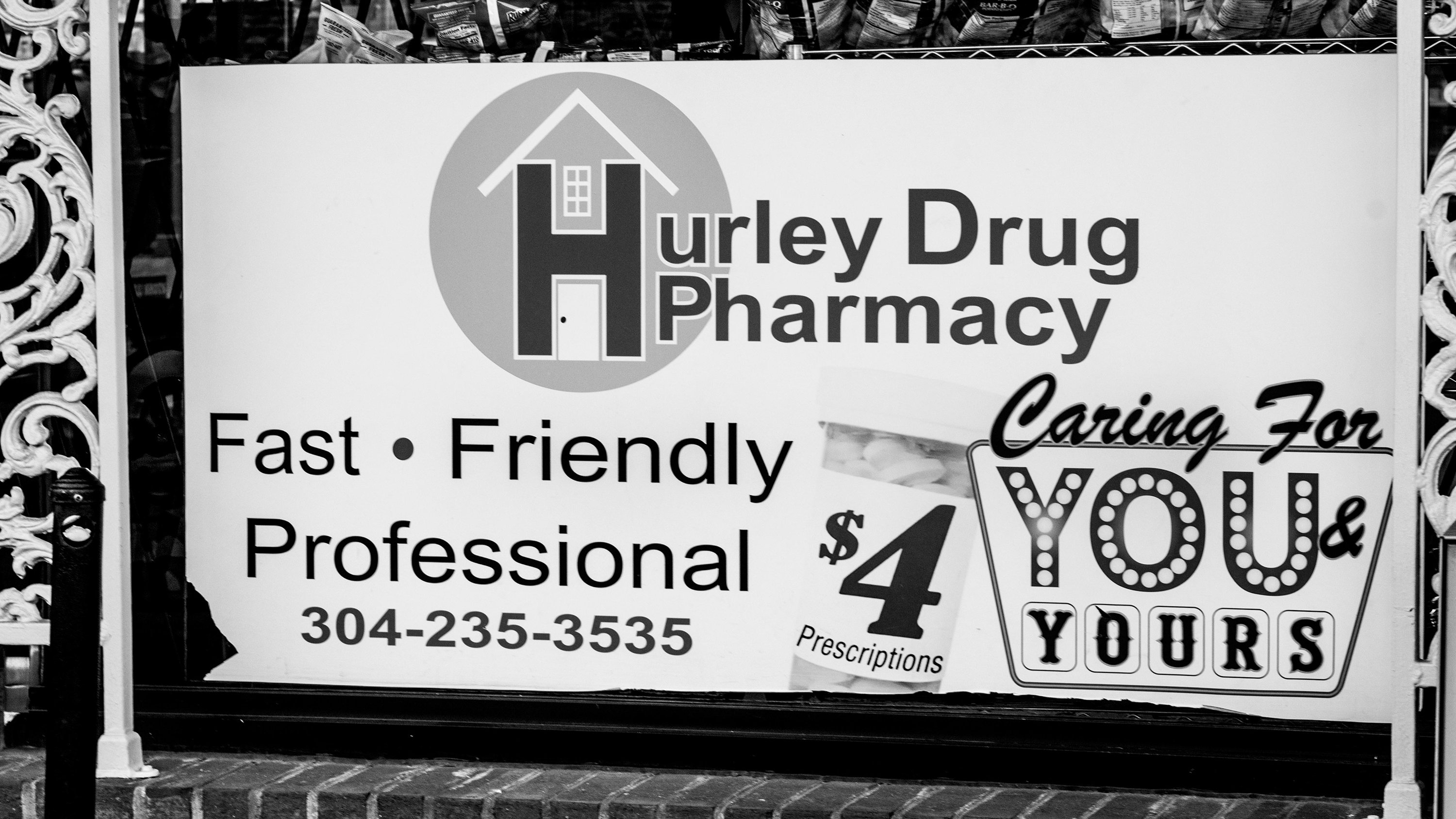 Hurley Drug Company in Williamson