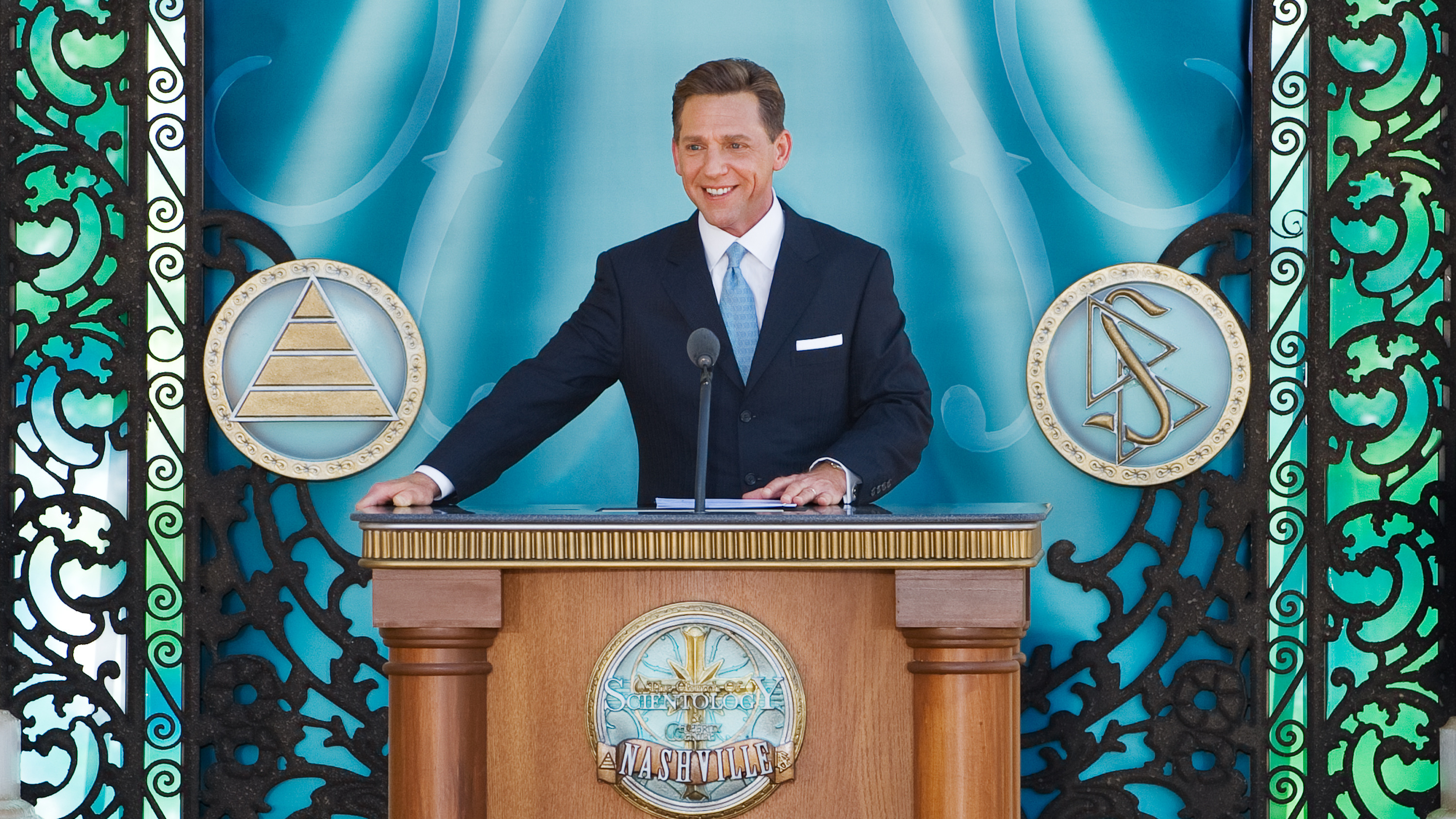 THE SCIENTOLOGISTS HAVE LANDED! EXCLUSIVE Zany church's ...
