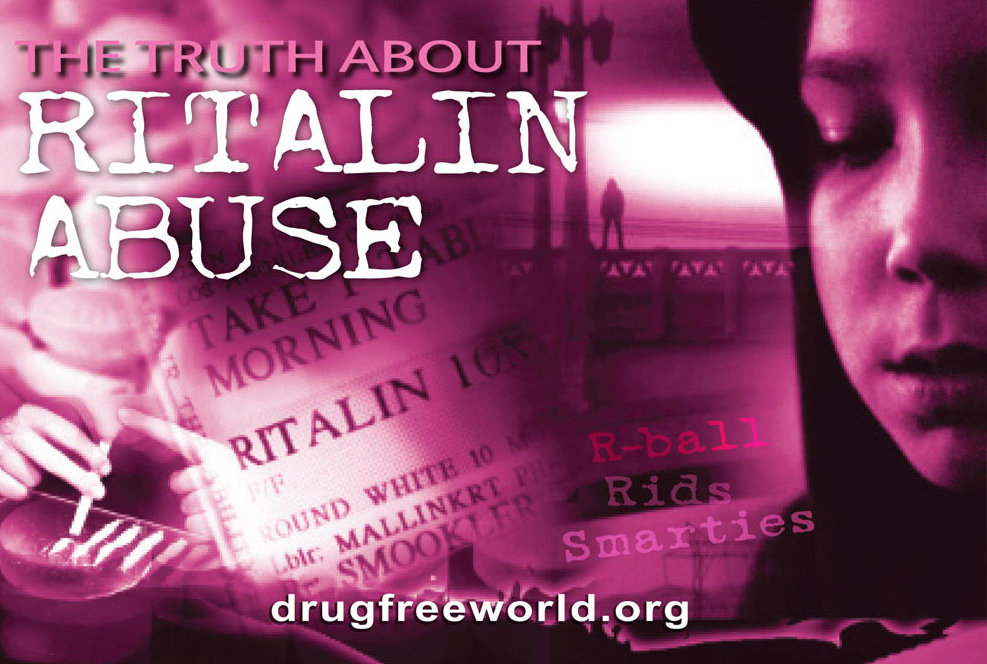 Ritalin Abuse & Addiction - Signs & Symptoms - Drug-Free World