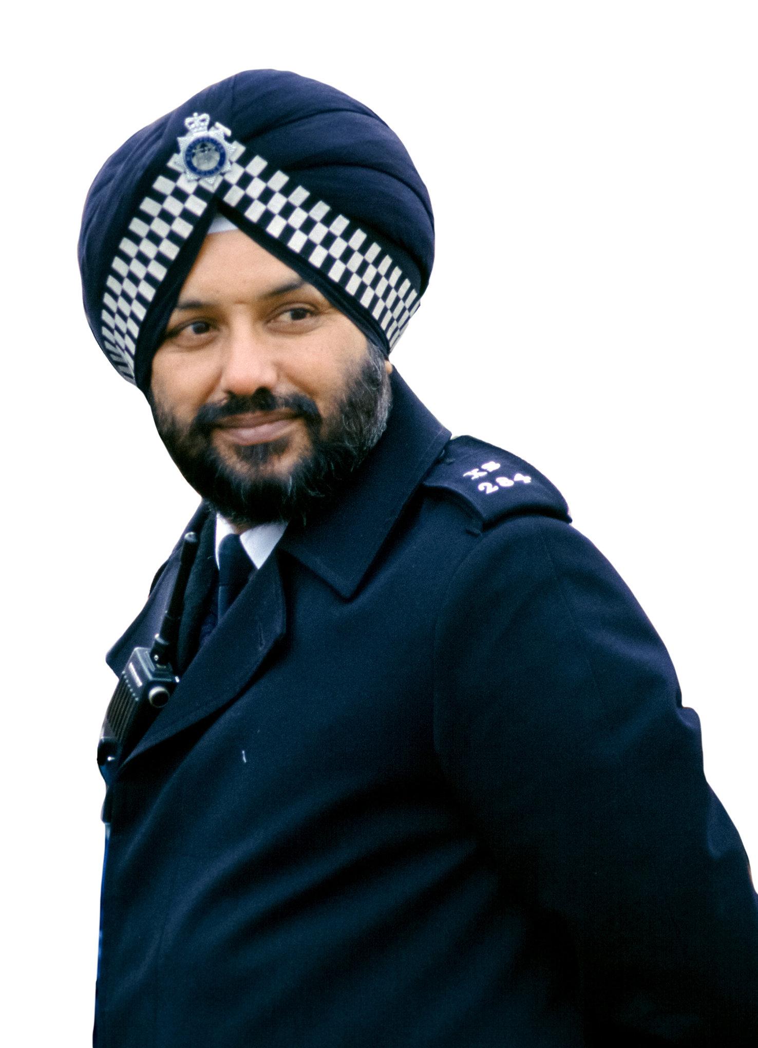 Sikh police officer