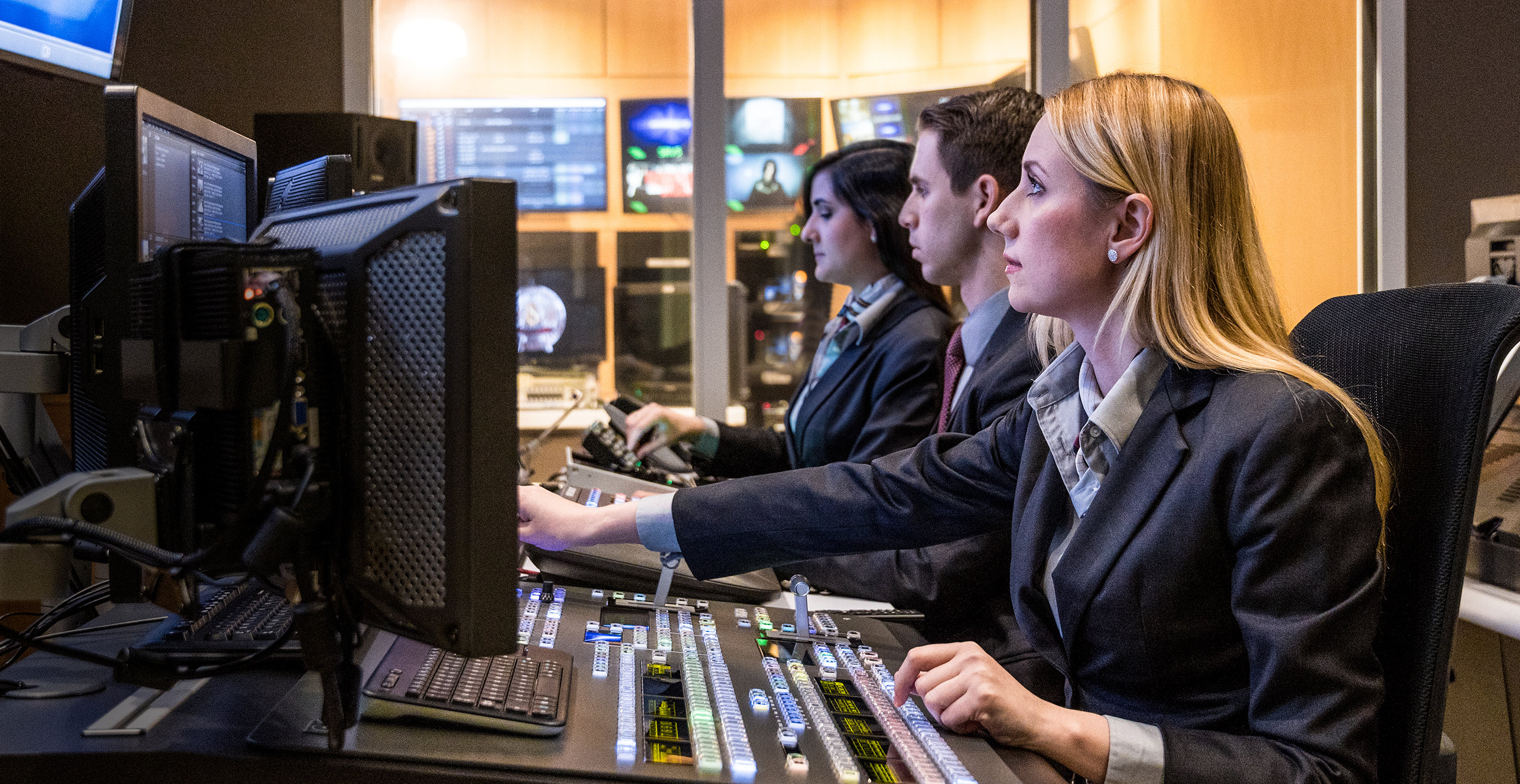 Scientology Media Productions TV-kontrolrum