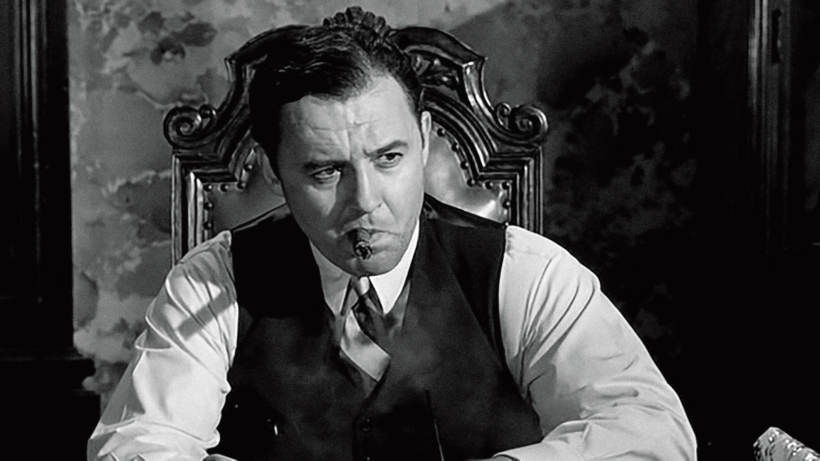 Rod Steiger som spelar Al Capone