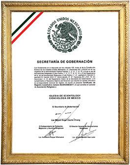 La reconnaissance de la Scientology au Mexique