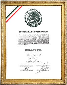 Anerkjennelse av Scientology i Mexico