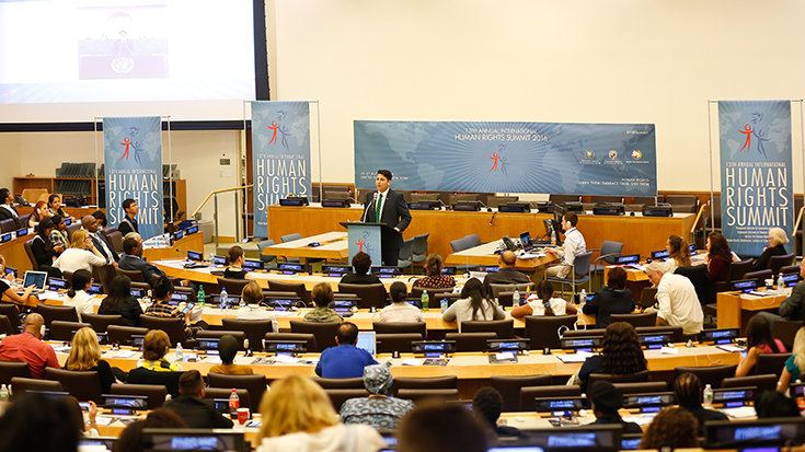13th Annual Youth for Human Rights International Human Rights Summit 2016